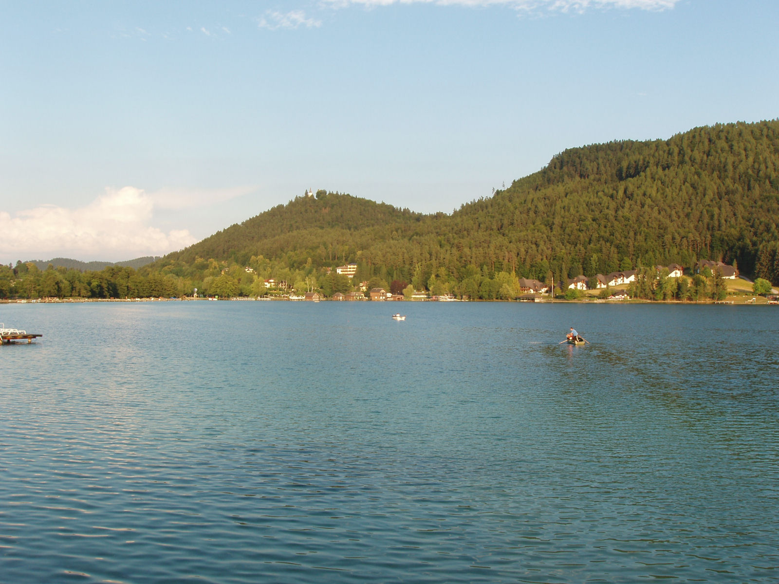 Lake Klopeiner See in Carinthia, Austria, is renowned for its drinking water quality