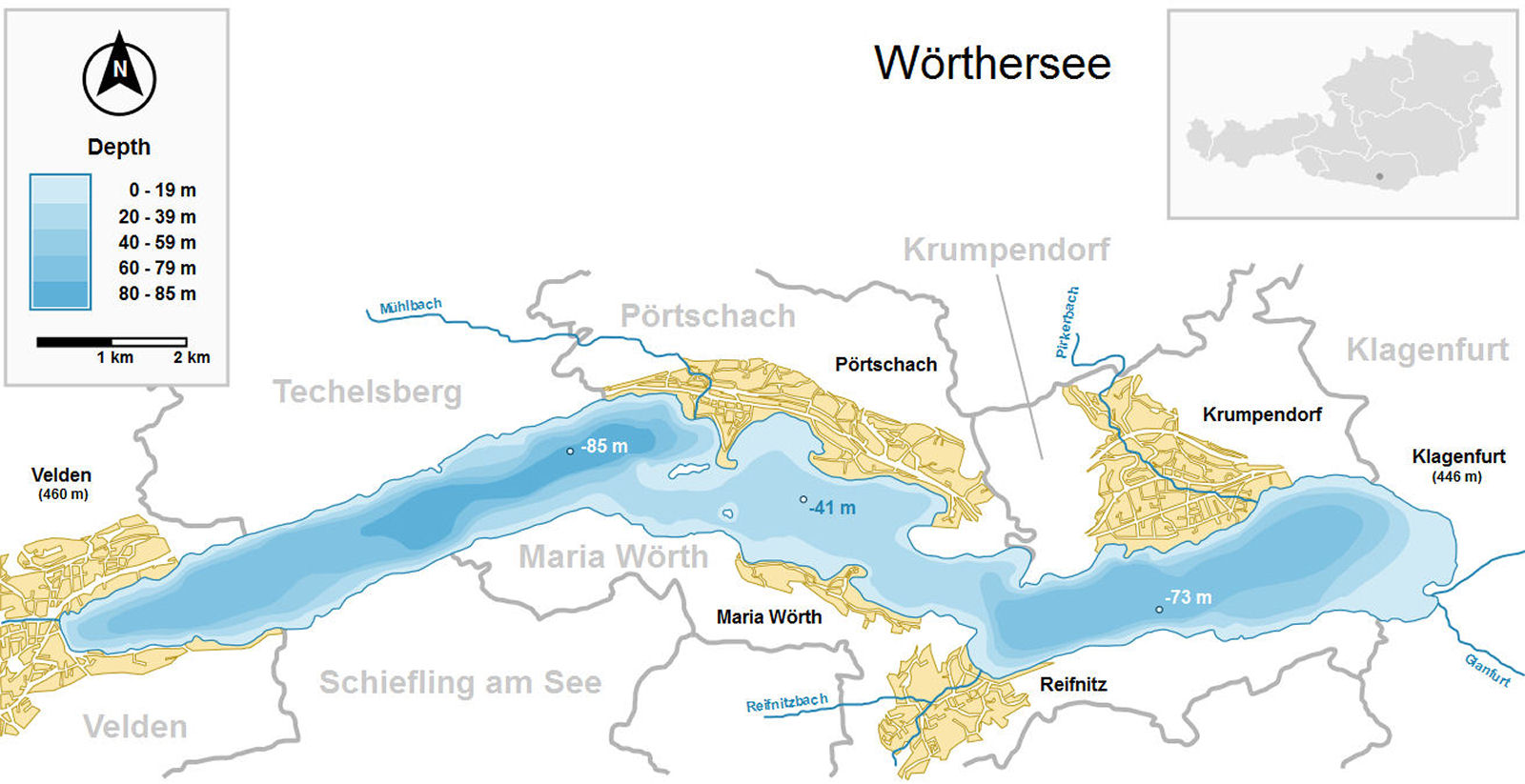lake-woerthersee-austria-map