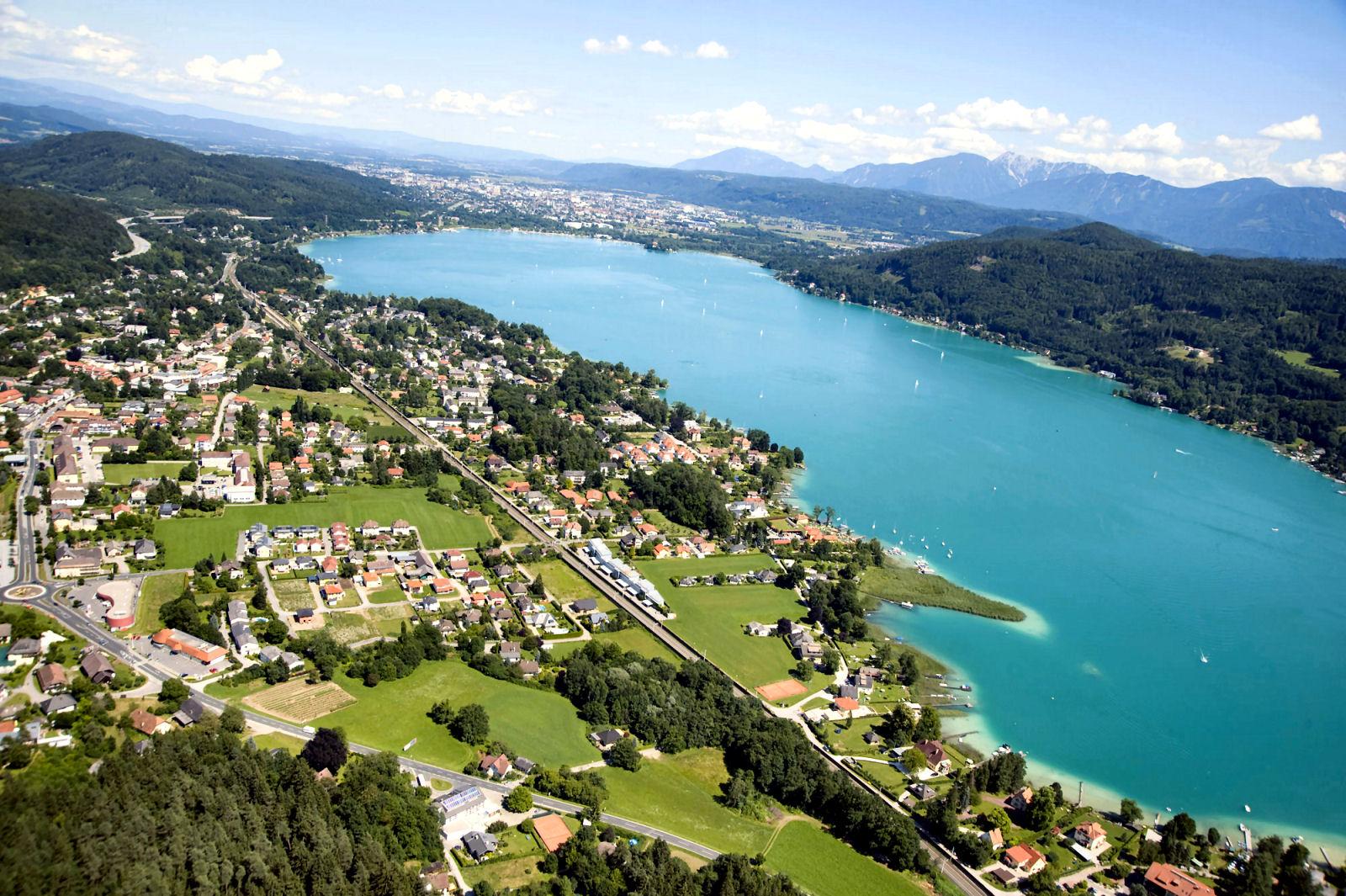 lake-woerthersee-klagenfurt-austria