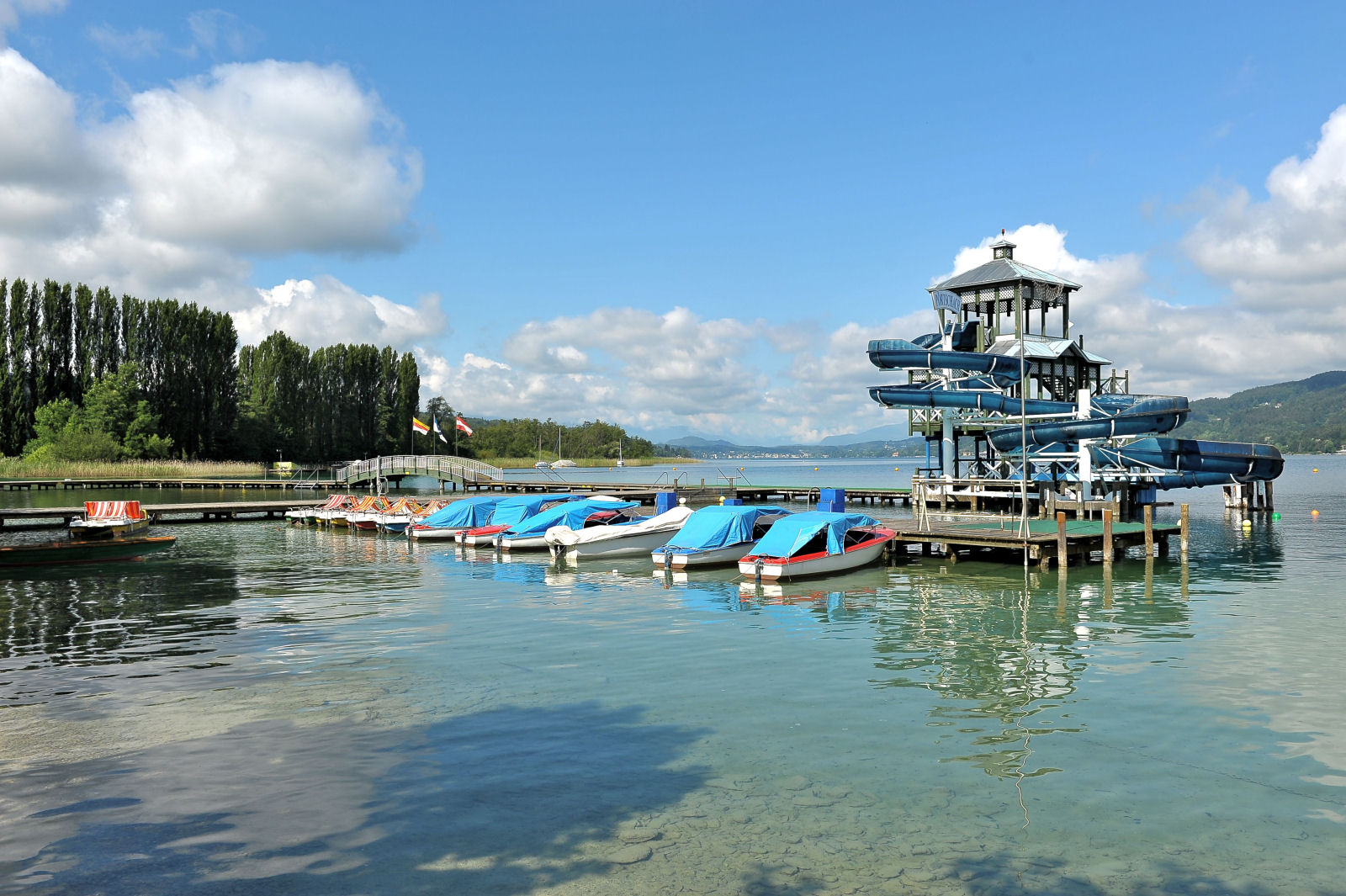 lake-woerthersee-lido-water-slide