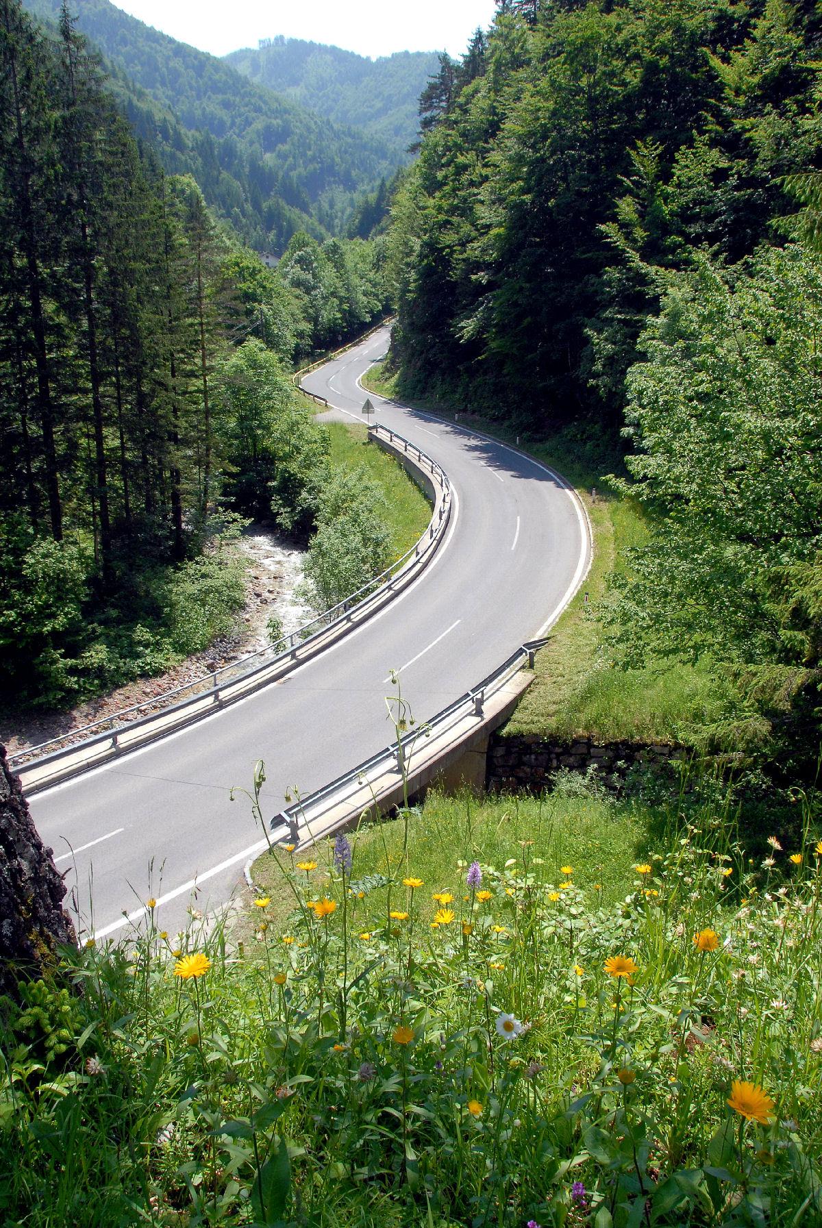 Loiblpass road