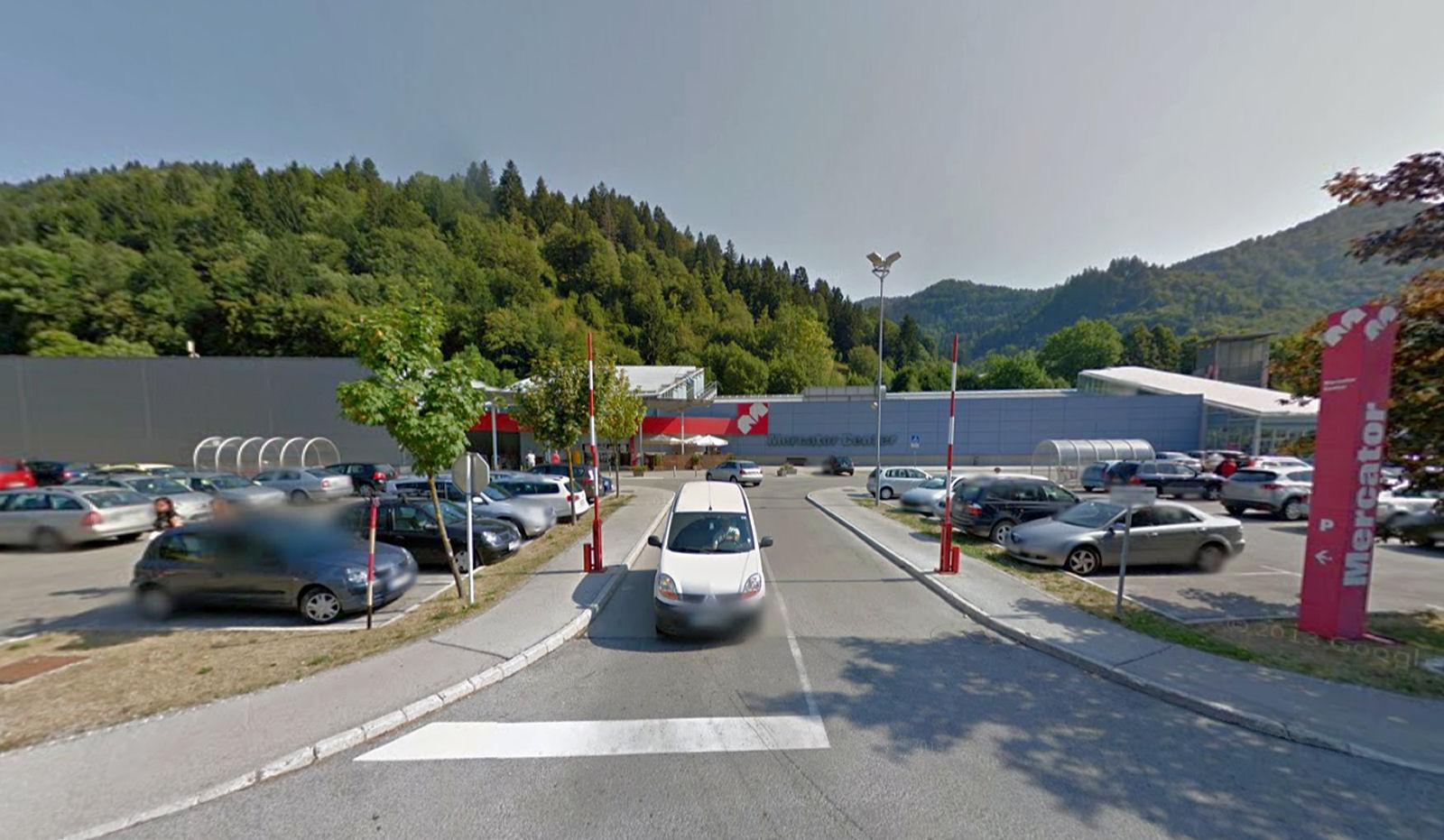 Mercator Hipermarket in Jesenice, Slovenia