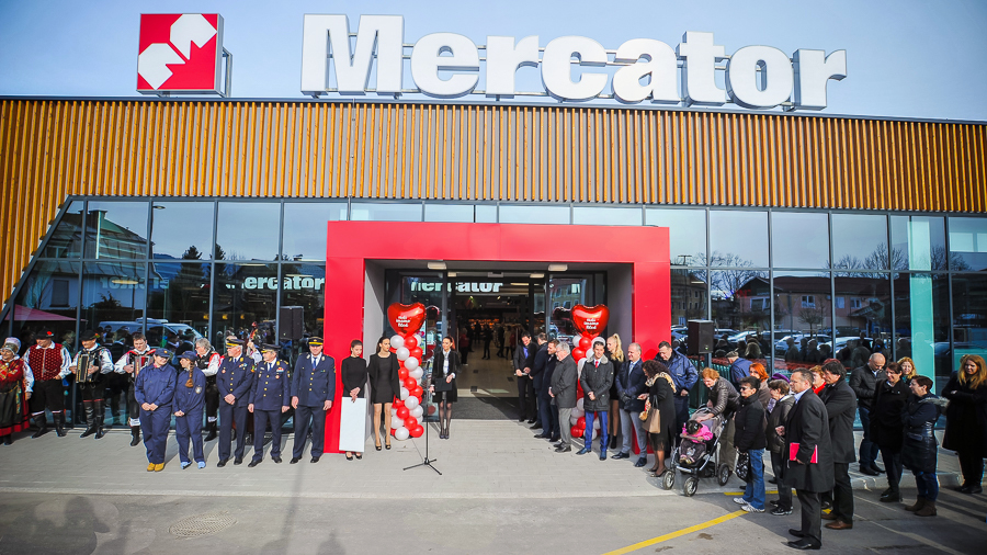 Mercator Supermarket Bled