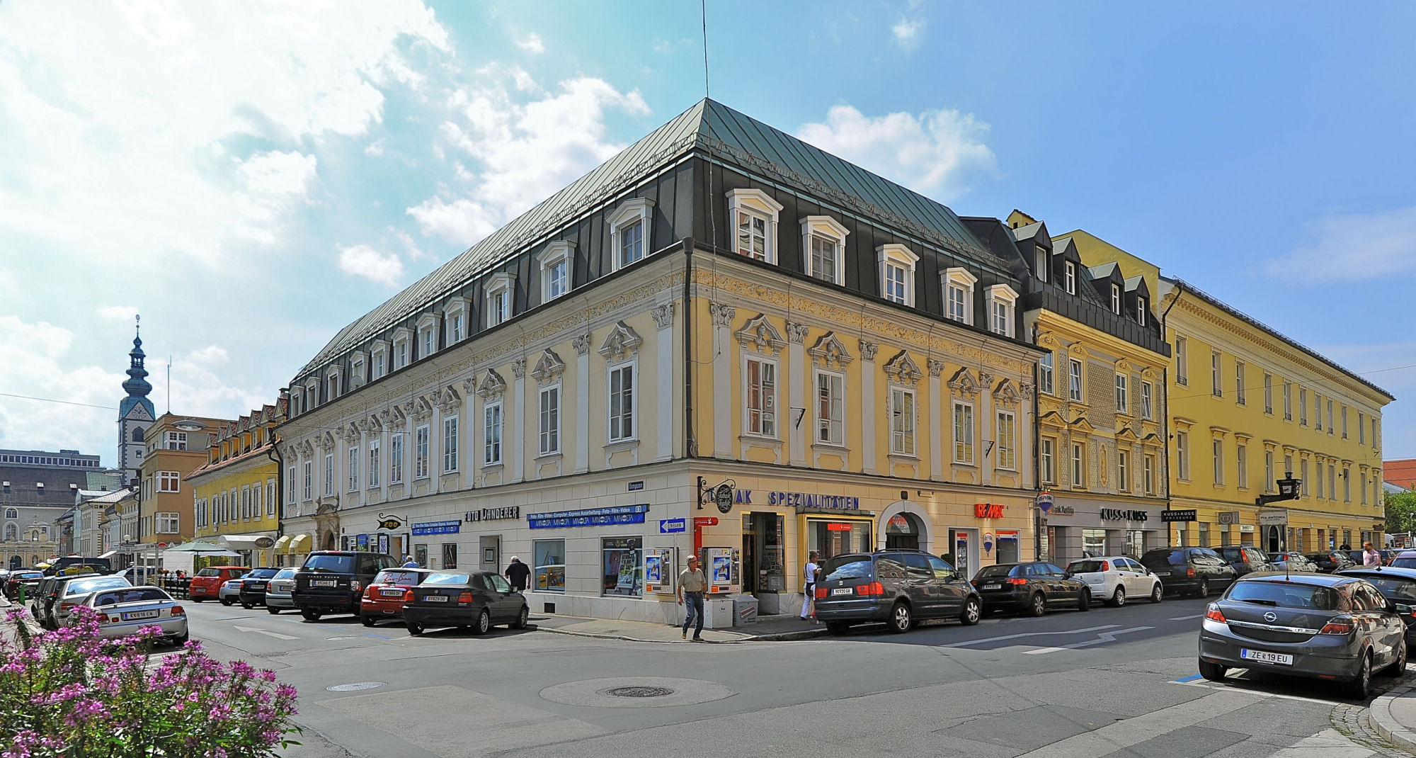 Middle-class house in Klagenfurt, capital of the state Carinthia, Austria