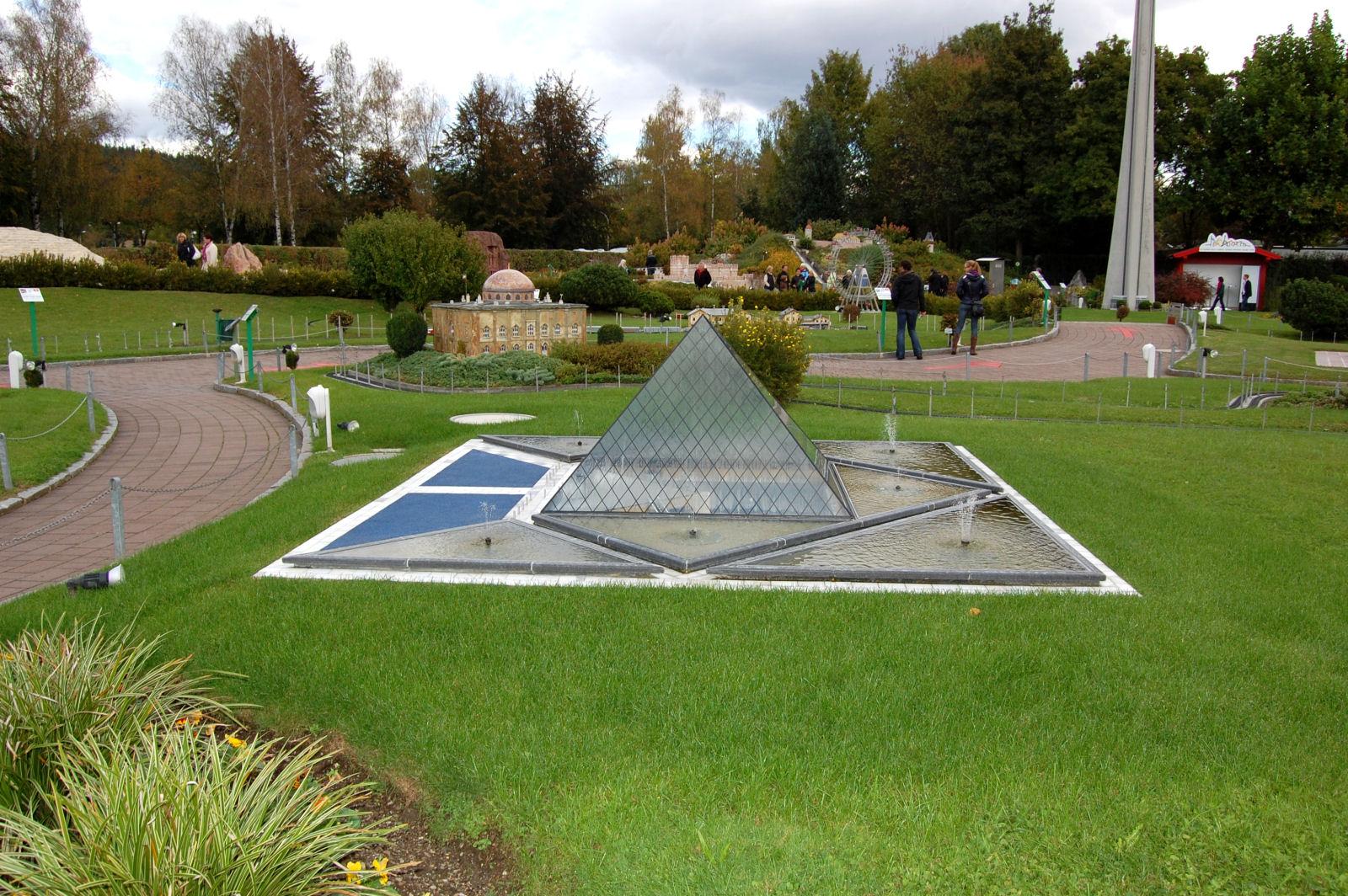 Minimundus miniature park in Klagenfurt, Carinthia, Austria