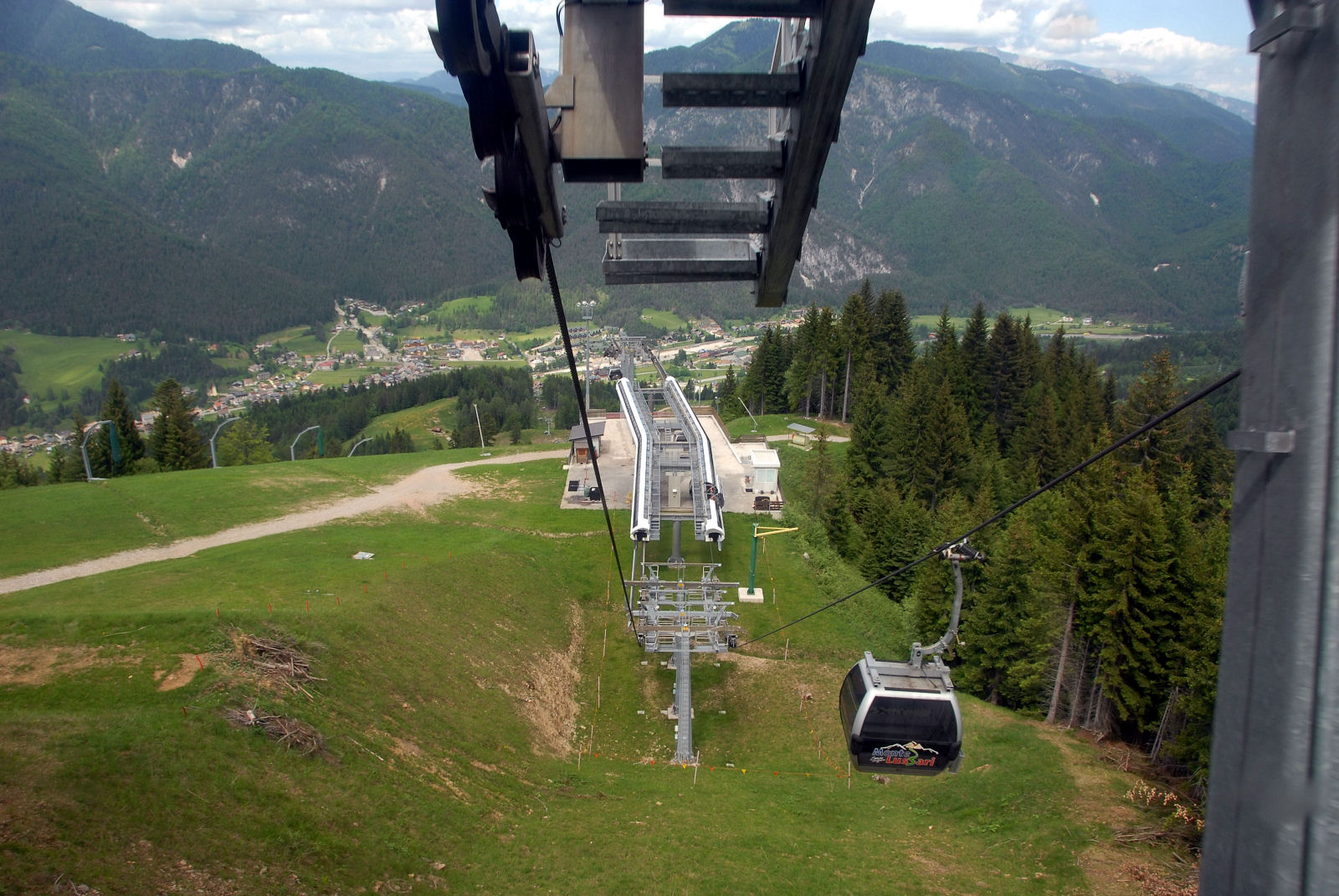 Cable car to Monte Lussari
