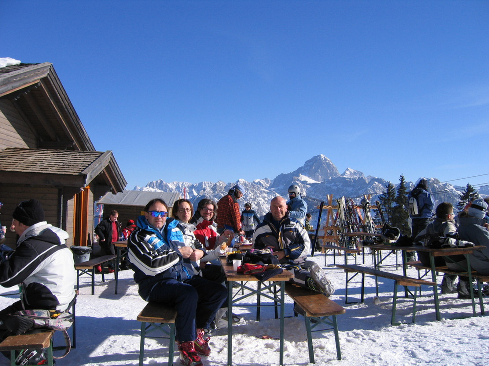 Mount Lussari in winter, Tarvisio, province of Udine, region Friuli-Venezia Giulia, Italy