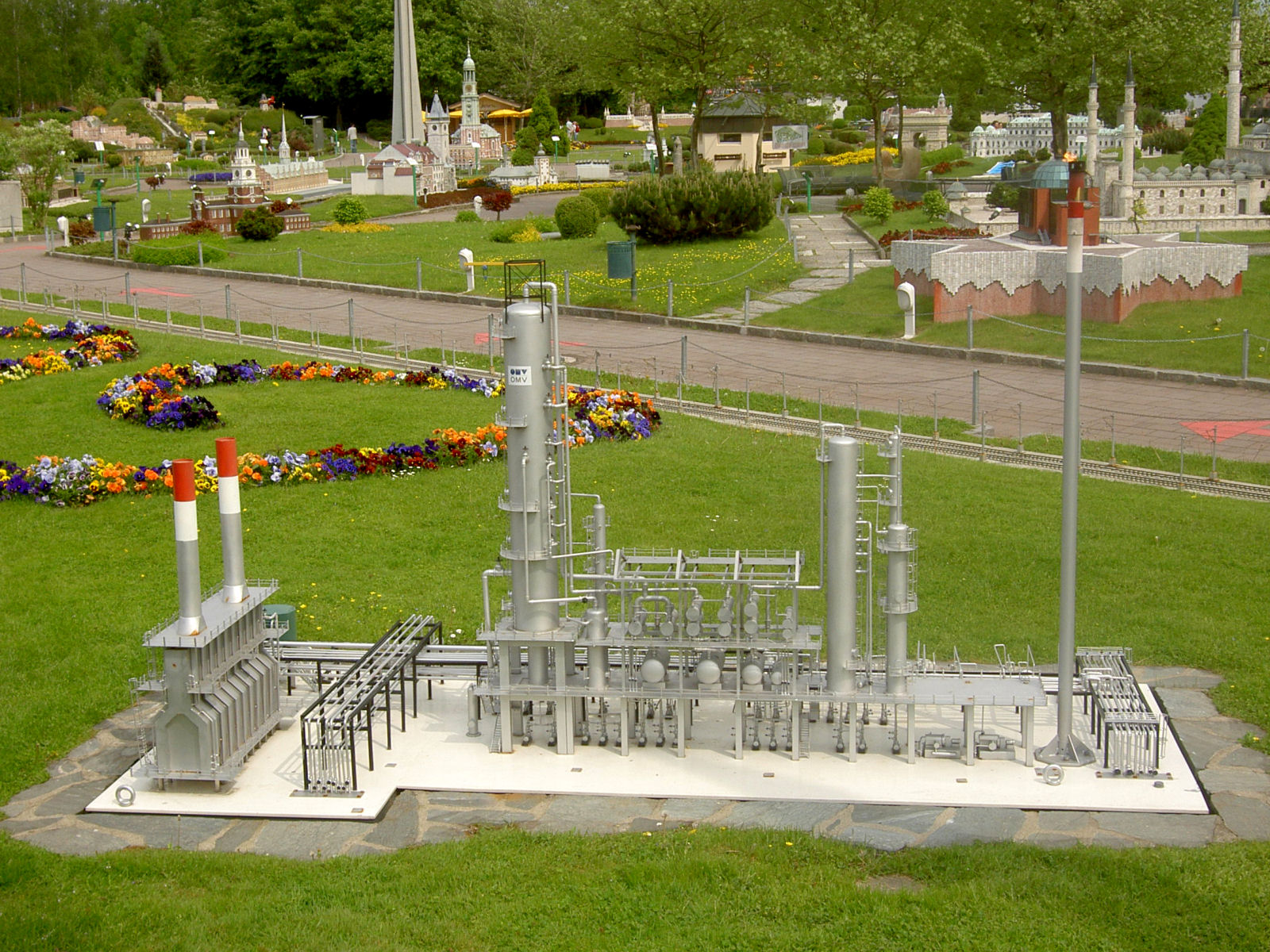 Model of the OMV Raffinerie at Minimundus, Klagenfurt, Austria