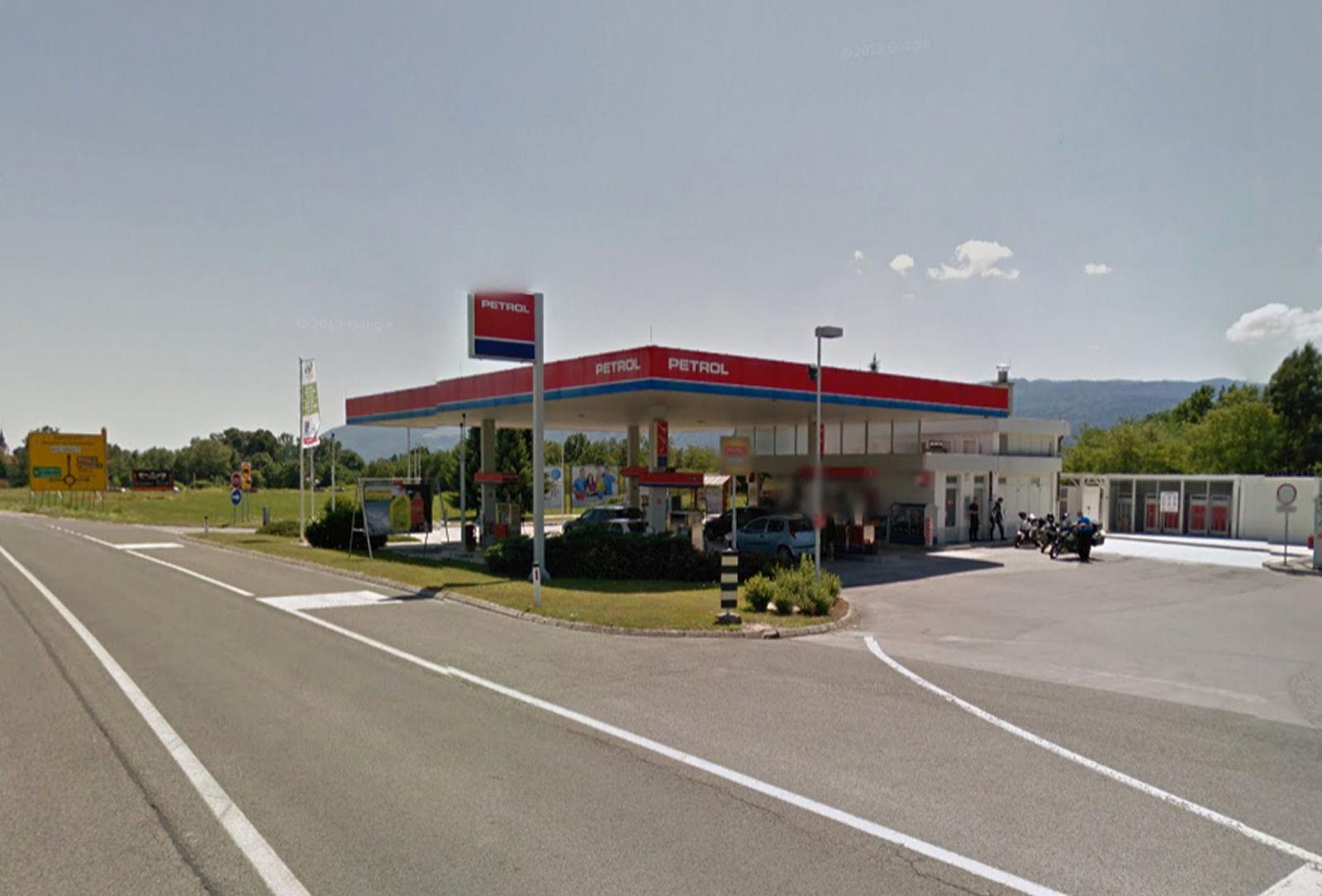 Petrol Lesce gas station, Slovenia