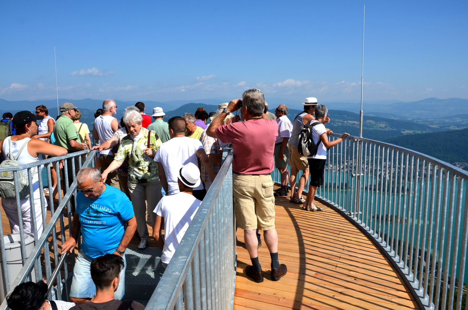 Pyramidenkogel Observation Tower is one of the most visited tourist attraction in Austria