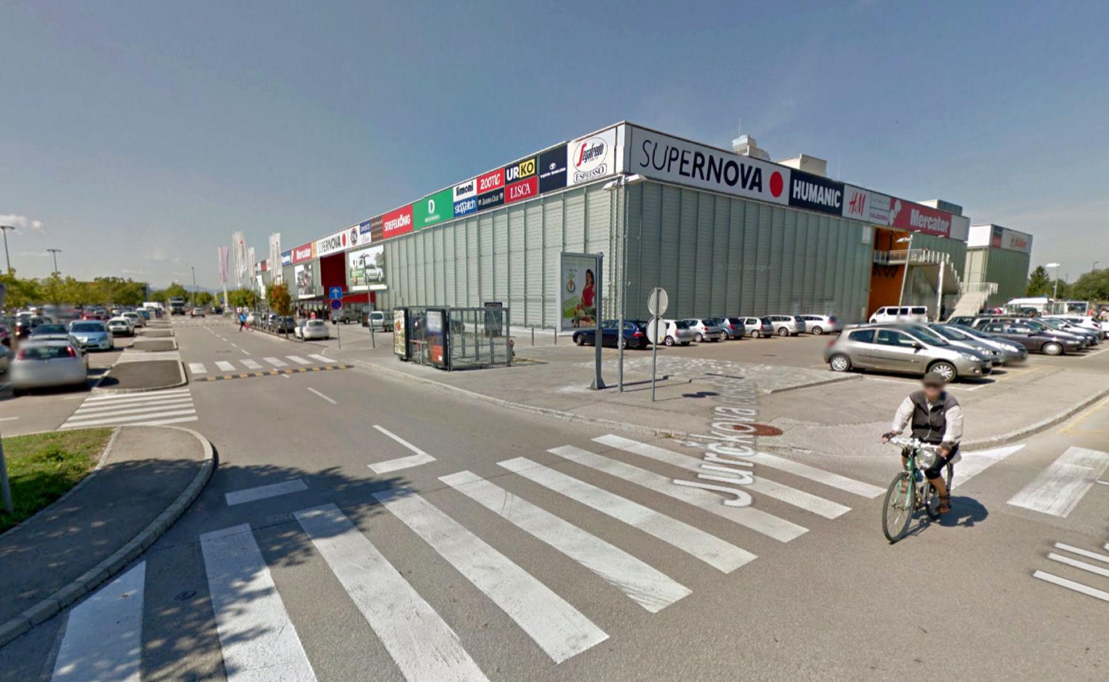Supernova Ljubljana shopping centre