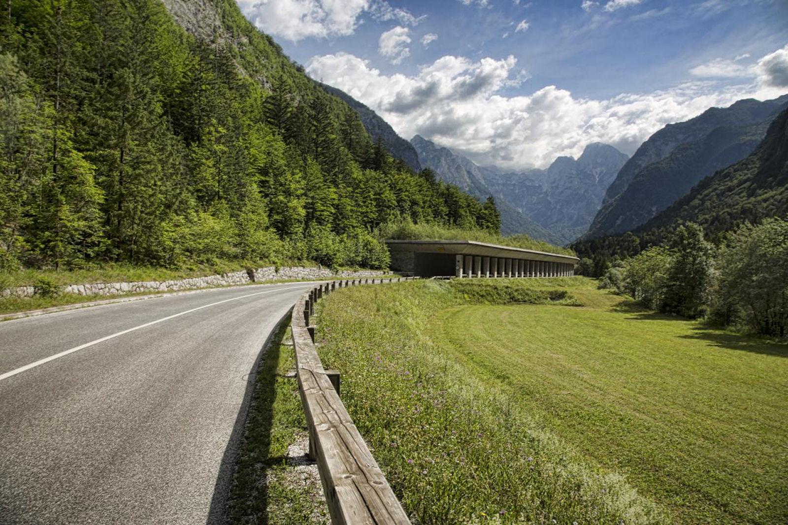 Scenic Trenta valley, Slovenia