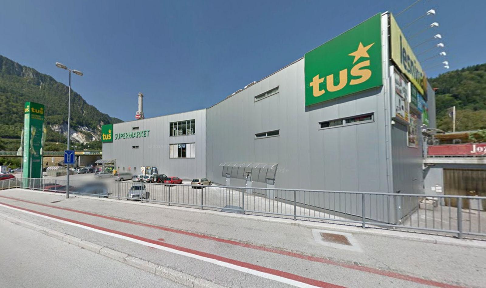 Tus Supermarket in Jesenice, Slovenia