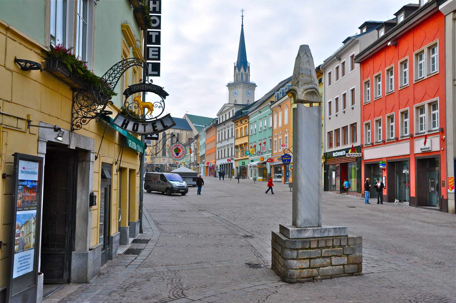 Villach is a lovely small Austrian town