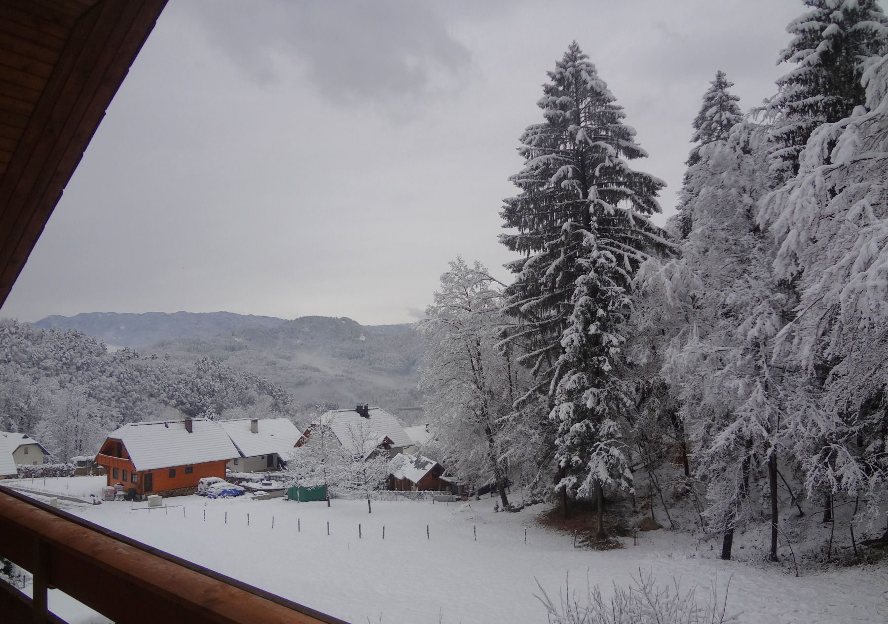 Winter view from the 3rd balcony