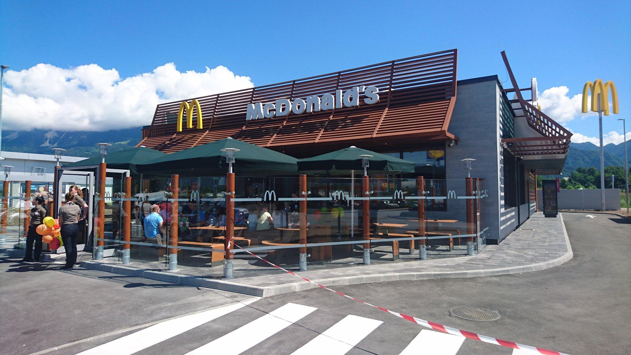 Mcdonalds Lesce Slovenia