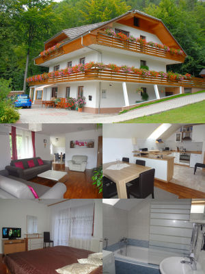 Superior 2 Bedroom Apartment with 3 Balconies in the Zavrsnica Valley near Lake Bled, Slovenia