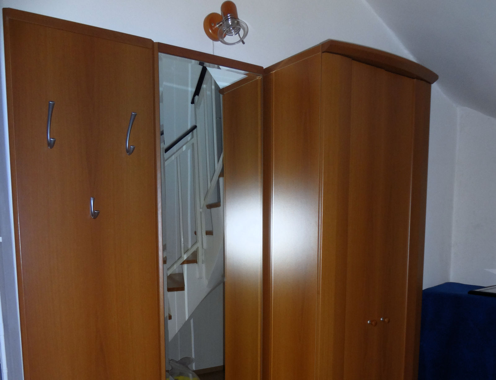 A closet in the hallway of the Fine Stay Bled apartment in Lake Bled, Slovenia