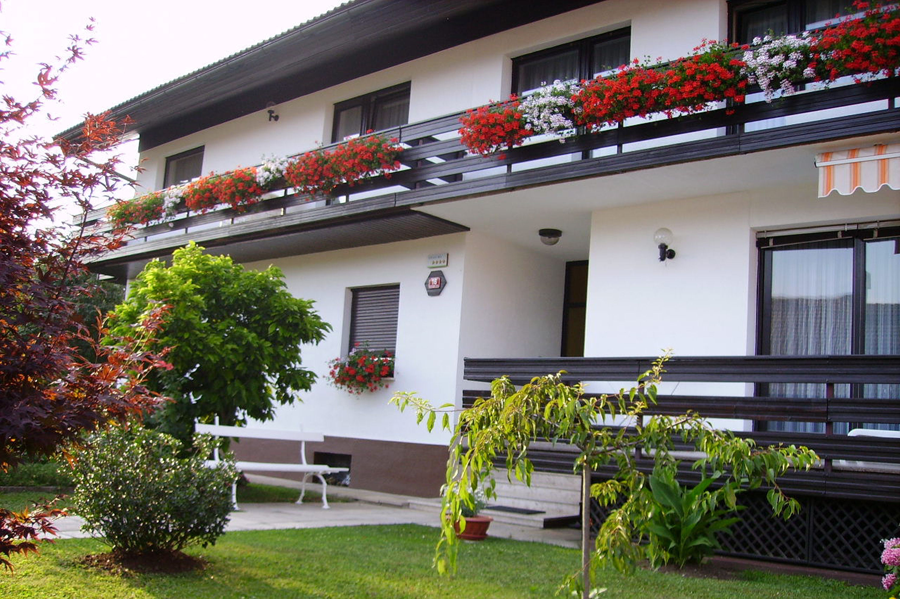Exterior of the Fine Stay apartment in Lake Bled, Slovenia
