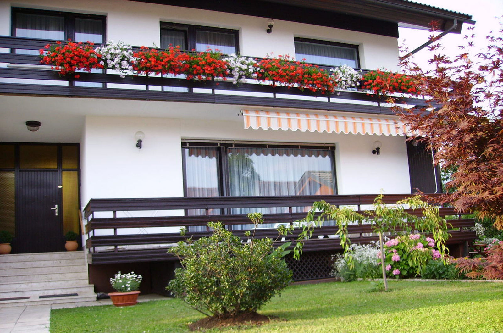 Entrance of the Fine Stay apartment in Lake Bled, Slovenia