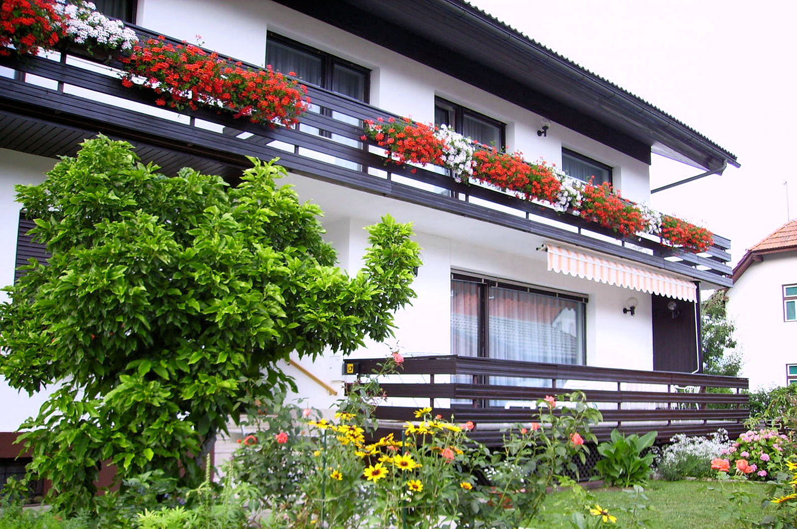 Exterior of the Fine Stay Bled apartment in Lake Bled, Slovenia