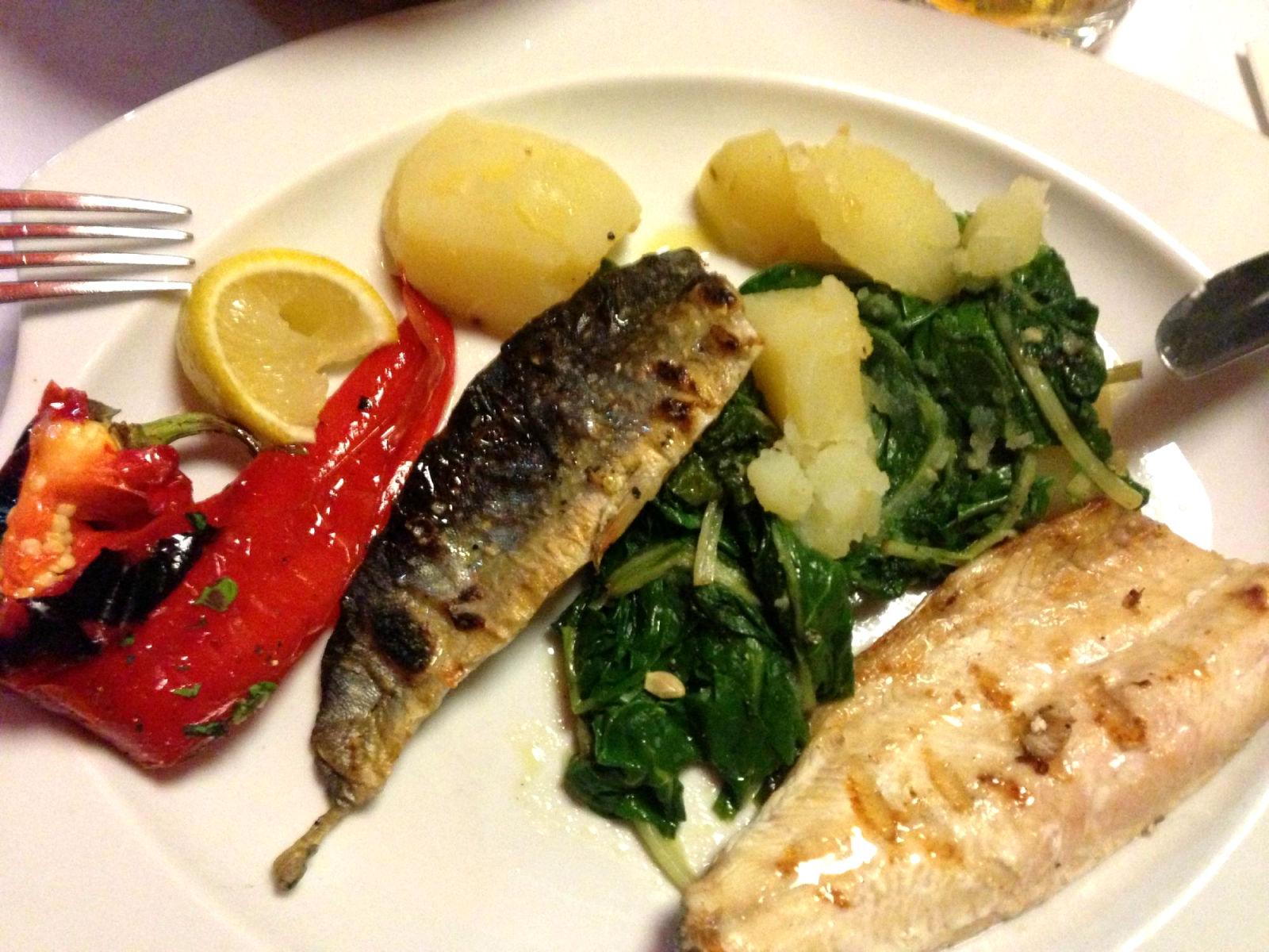 Gostilna Union Restaurant and Bar food, Bled Slovenia