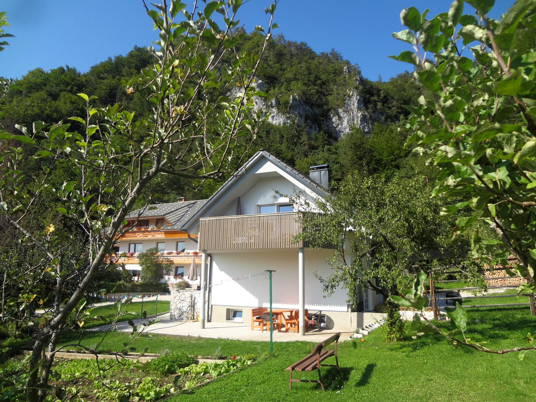 Exterior of Apartments Fine Stay in the Lake Bled Area Of Slovenia