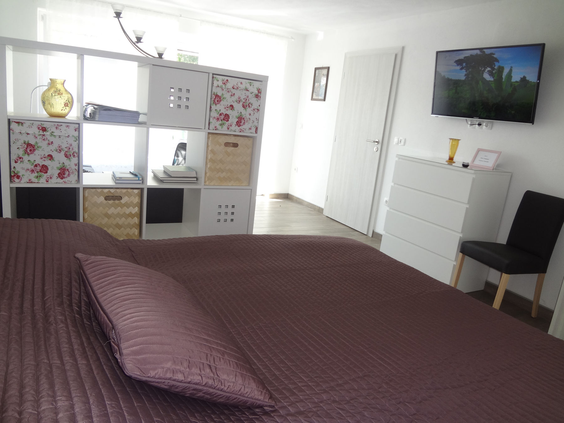 First Bedroom With Double Bed In The Fine Stay Apartment, The Bled Area Of  Slovenia