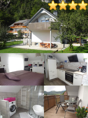 Collage of the Newly Refurbished Modern 2-Bedroom Apartment With Large Balcony