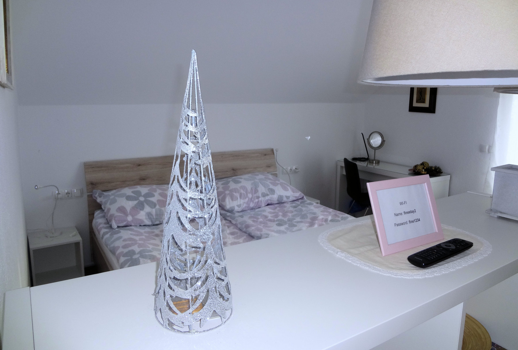 New Year's Christmas tree in Apartments Fine Stay