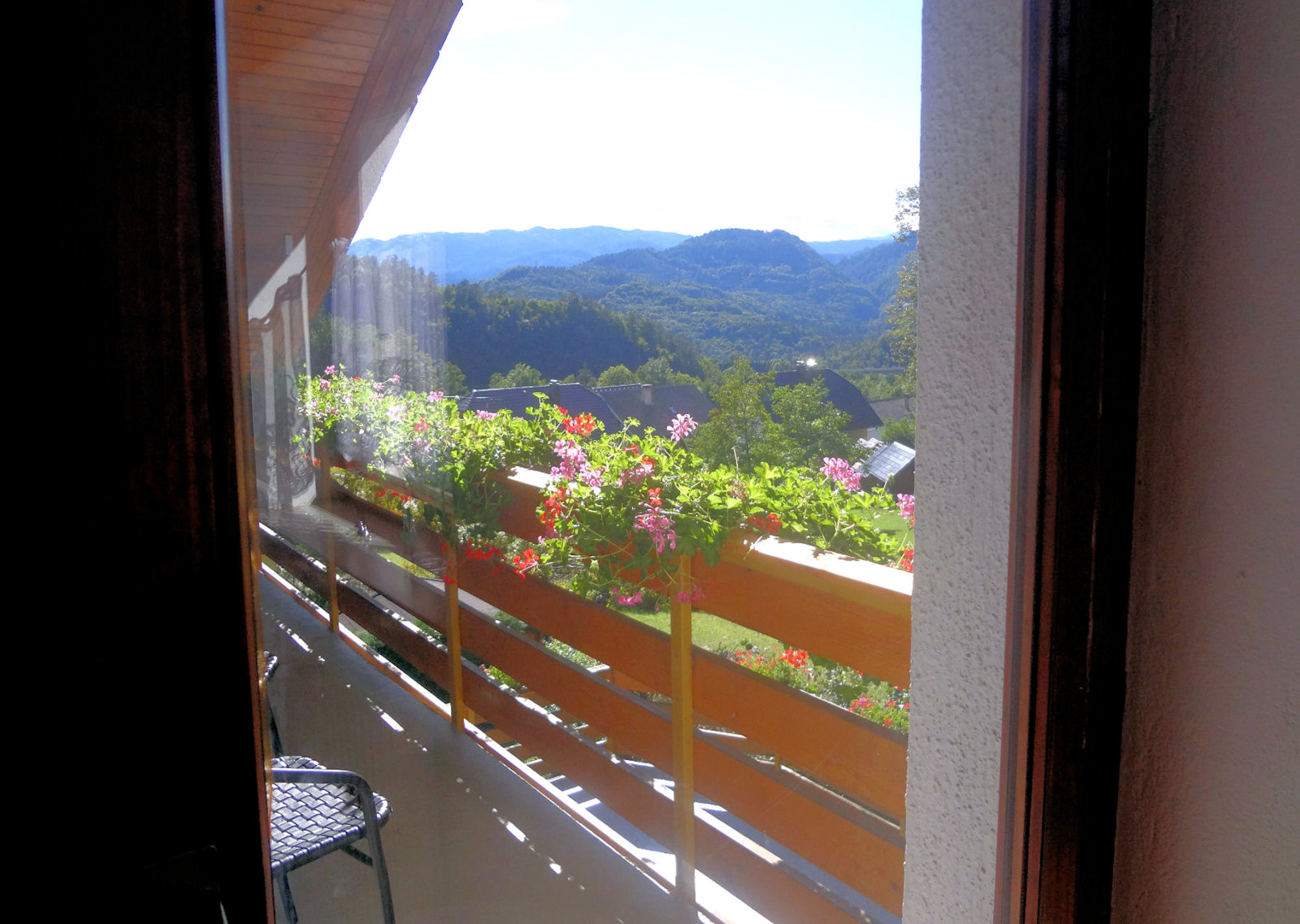 Third balcony of Apartments Fine Stay in the Bled area of Slovenia