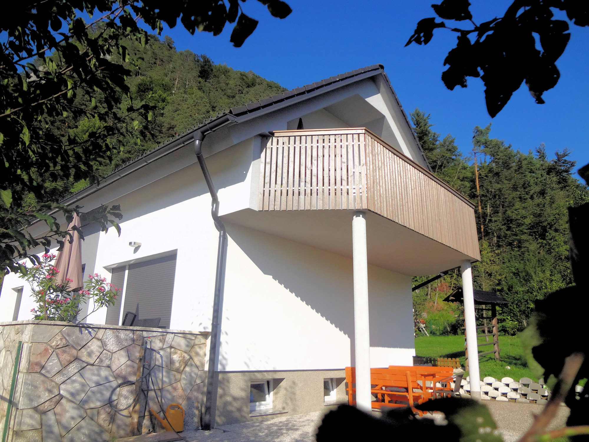 Exterior of Apartments Fine Stay in the Slovenian Alps in Slovenia