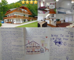 Collage of guestbook entries for Superior Apartment With 3 Balconies