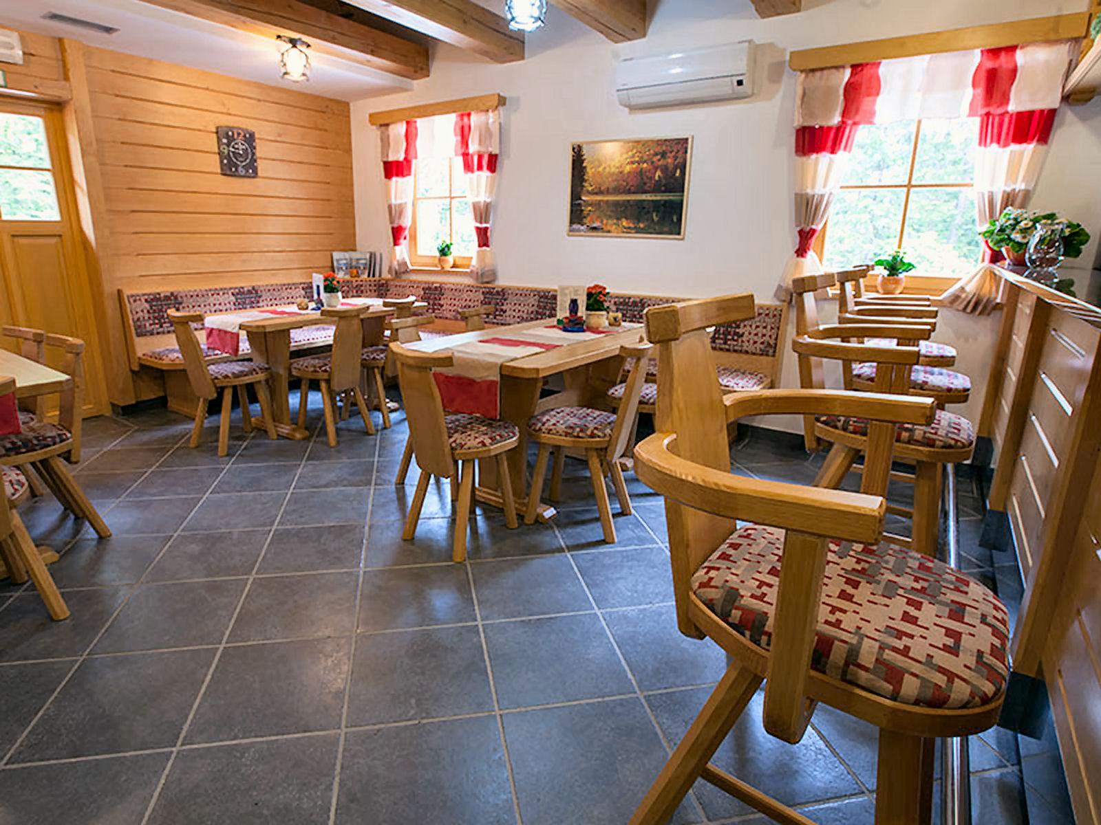 Inside of Bar Zavrh in the Zavrsnica Valley