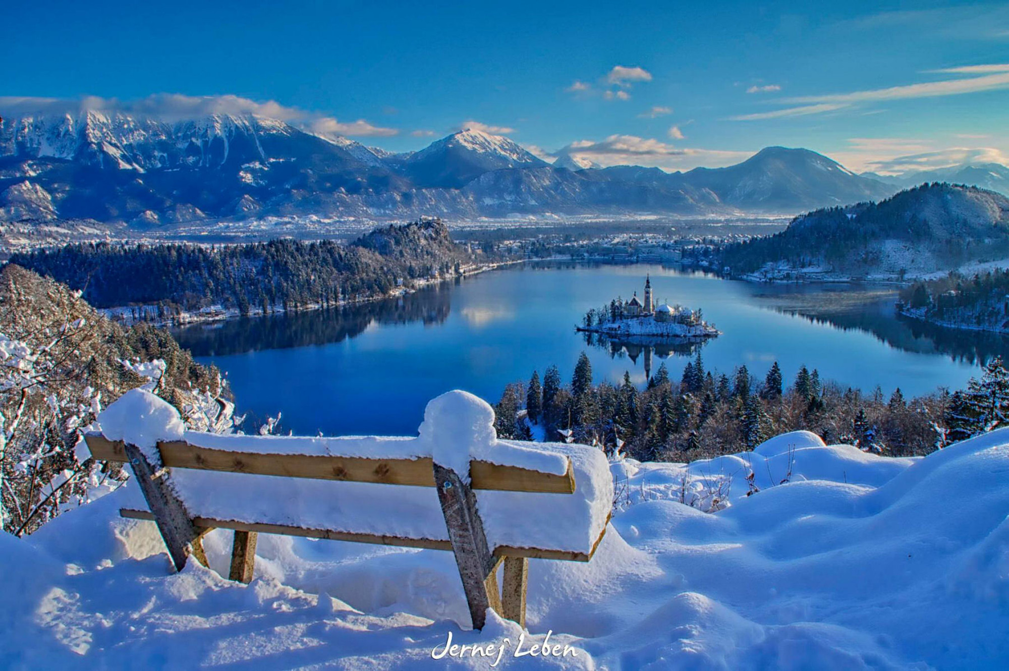 Photo Gallery The Bled Area And Slovenia In Winter