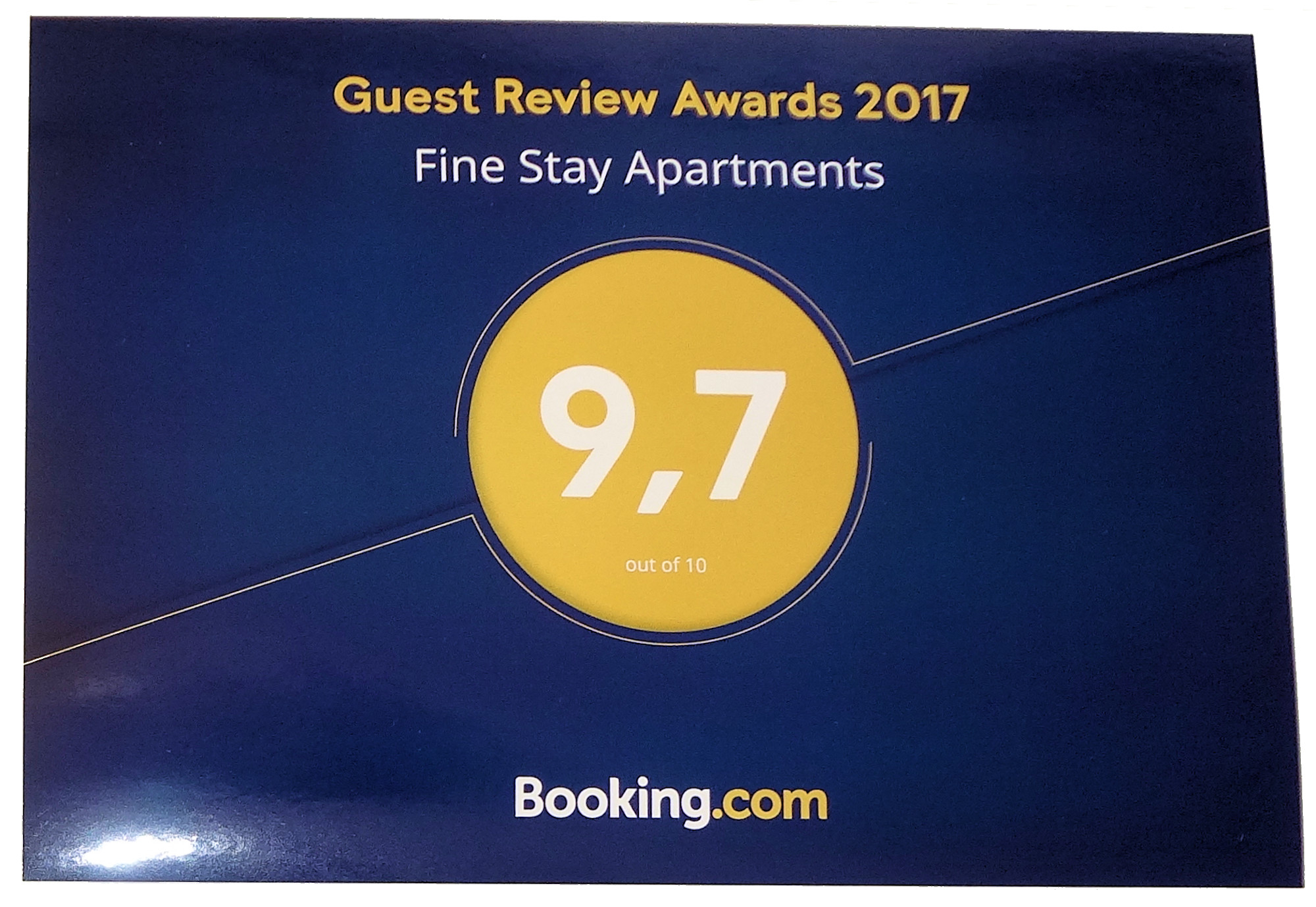 Reviews Booking.Com  2020